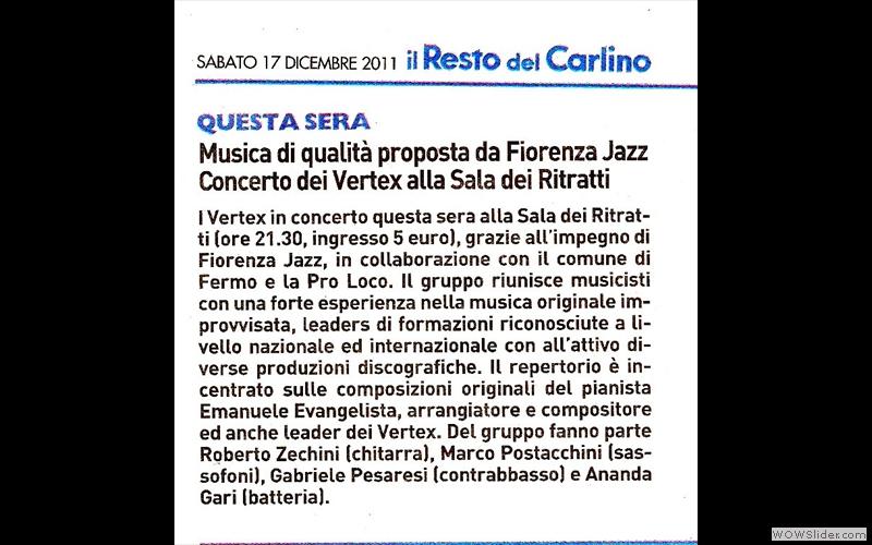 Vertex-2 - Resto Carlino